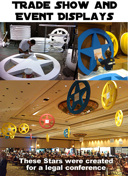 Custom Made Foam Props For Conference, Event, Tradeshows and Retail
