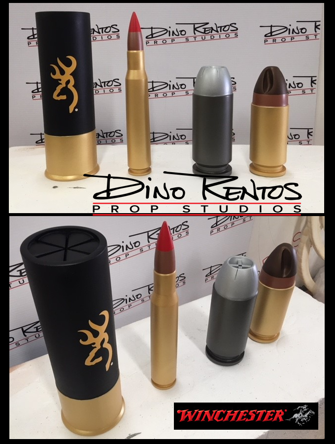 Custom Large Foam Bullet Cartridge Replica Props