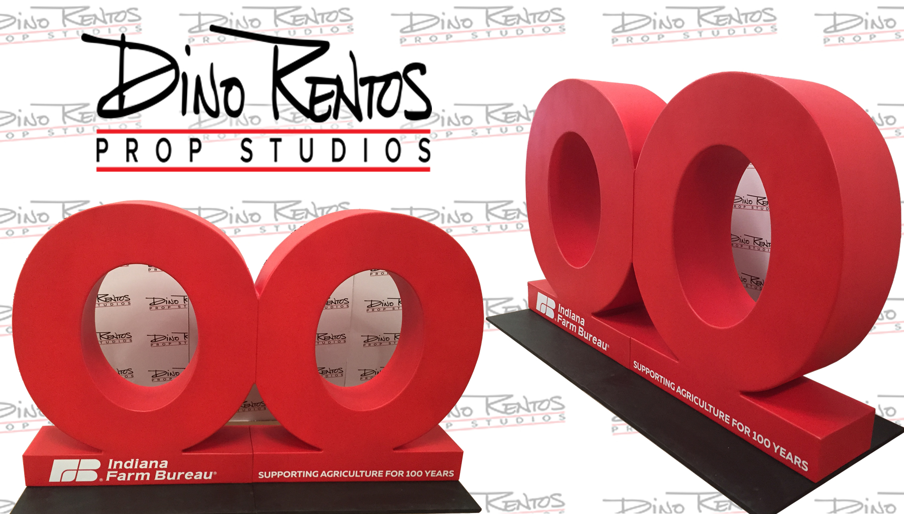 Custom Foam 3D Letters and Numbers for conferences tradeshows and events