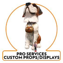 PRO SERVICES FOAM PROPS AND DISPLAYS, Scenic Shop