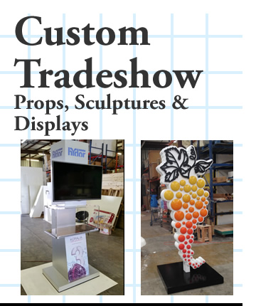 Custom Made Props Sculptures and Displays